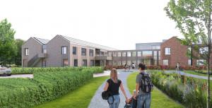 Foto 1 van Nieuwbouw WZC de Westerkim Hoogeveen